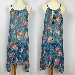 Old Navy Floral Sheer Swim Coverup